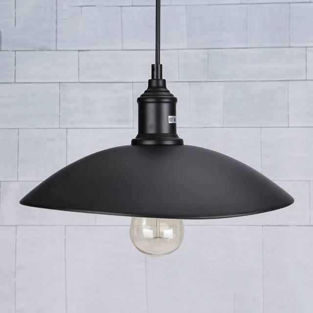 Smuxi Vintage Industrial Pendant Light Retro Ceiling Lamp Nordic Iron Dining Room