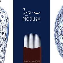 MEDUSA 0.20 mm 14U/16U/18U shape Permanent Makeup Eyebrow flex Tattoo Needles Blade For 3D PMU
