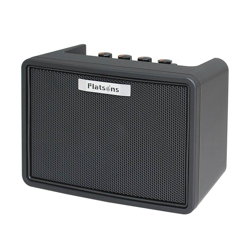 Hot Mini modélisation guitare amplificateur haut-parleurs FGA-3 AUX amplificateurs 2 canaux accessoires de guitare pour guitare électrique acoustique