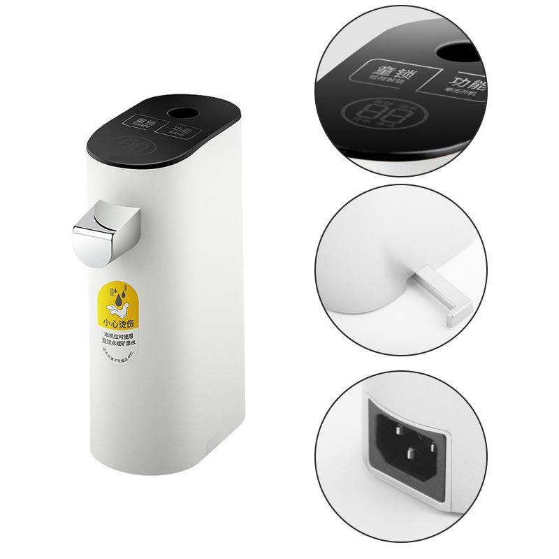 220V reizen waterkoker instant hot water dispenser mini draagbare kleine opvouwbare boiler kantoor Hot waterkoker - 5