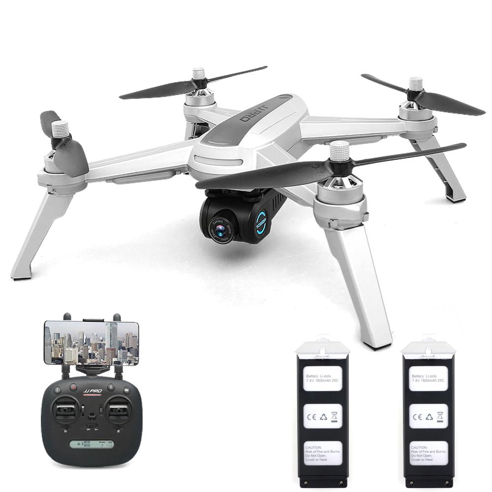 JJRC JJPRO X5 5G WiFi FPV RC Drone GPS positionnement Altitude tenir 1080 P caméra Point d'intéressant suivre moteur sans brosse RC jouet