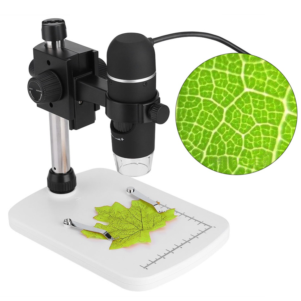 20X 300X Professional Electron Microscope 5MP HD USB Digital LED Measurement with Adjustable Stand