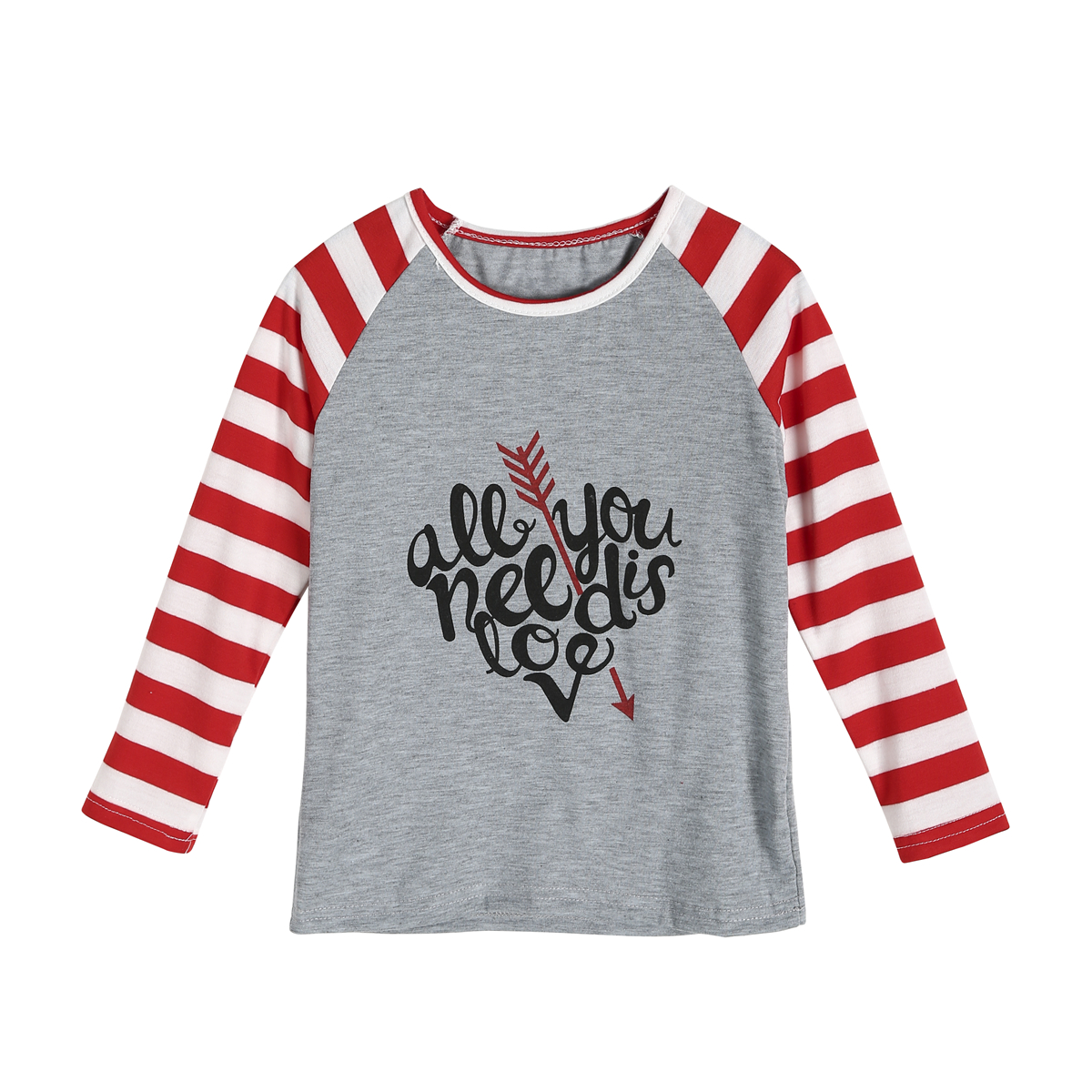 63158572ed 2019 Spring Couple T Shirt Mother Daughter Floral Matching Shirts Family  Clothes Love Valentine Striped Tee Tops Clothing-in Matching Family Outfits  from ...