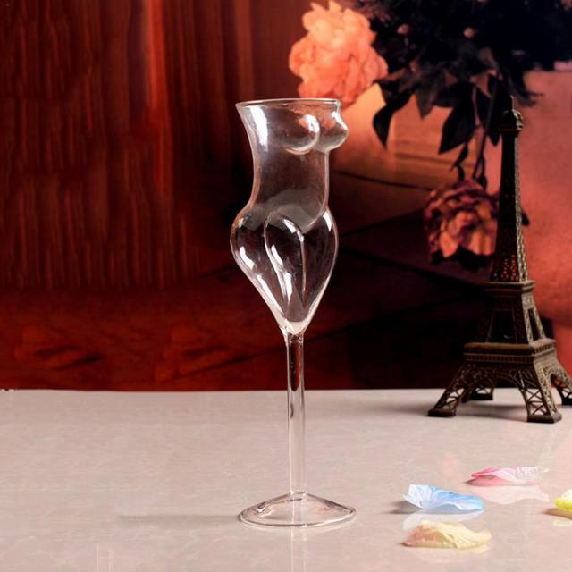 Sexy Torso Shaped Wine Glass
