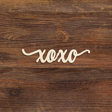 XOXO Wooden Cutouts Valentine Hugs and Kisses Valentines Sign Decorations Housewarming Decor Art Projects Craft