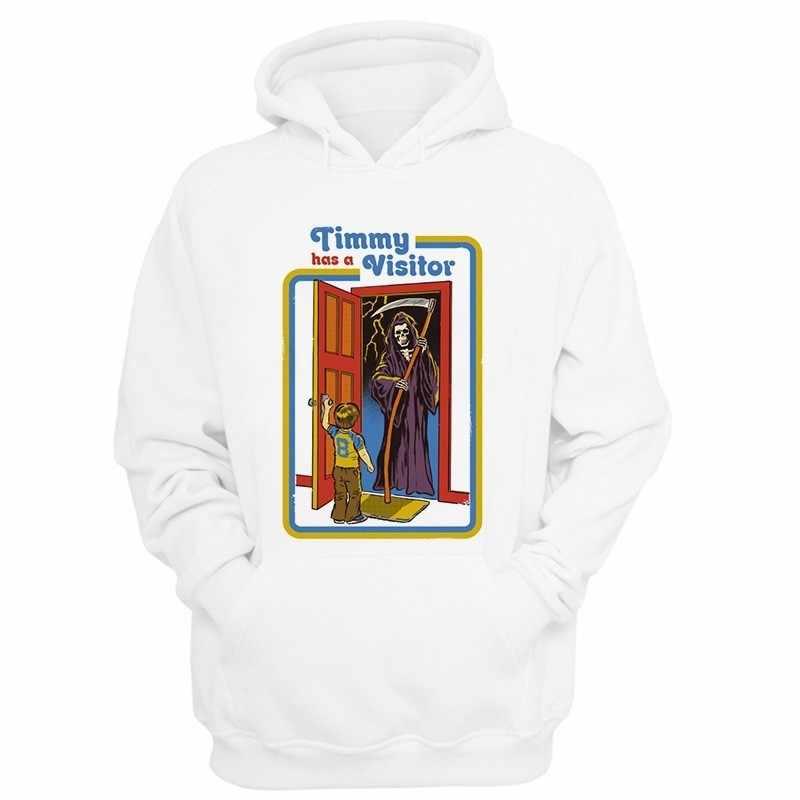 여성 남성 키즈 새 두건 사탄 까마귀 스웨터 남성 초자연적 인 까마귀 사탄 까마귀 여성 봄 재킷 하라주쿠 까마귀