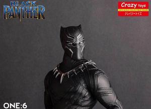 Image 4 - Crazy Speelgoed 1/6 Schaal Marvel Comics Black Panther Figurine Toy Doll Standbeeld
