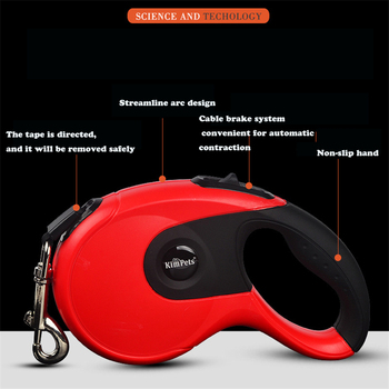 Durable Dog Leash Automatic Retractable 1