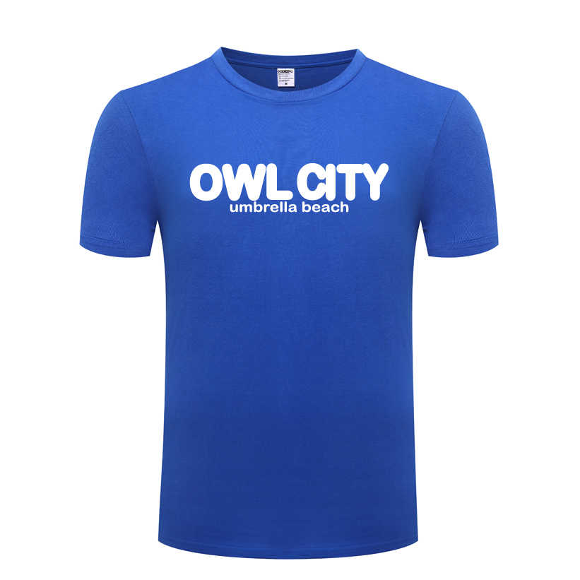 Rock Band Owl City Adam Young Mens Men T Shirt Tshirt 2018 New Short Sleeve  O Neck Cotton Casual T-shirt Top Tee