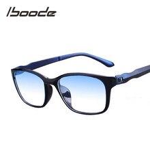 Iboode-Gafas de lectura para hombres, presbicia, antipatiza, gafas para ordenador, + 1,5, + 2,0, + 2,5, + 3,0, + 3,5, + 4,0