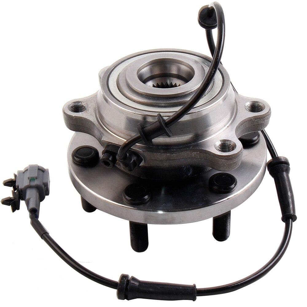 1 moyeu de roulement de roue avant pour NISSAN NAVARA 4WD D22 D40 YD25 VQ40 espagnol MAX pour NISSAN NAVARA/PATHFINDER 2.5, 3.0, 4.0 dCi SPT