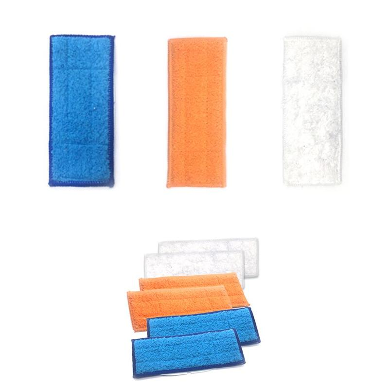 10pcs Washable Mop Cloth Wet Mopping Pad For IRobot 380t 4200 5200C (R370)  3pcs Pad Mop For IRobot Braava Jet 240 241 Vacuum