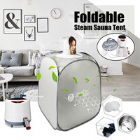 AU Plug Portable Indoor Foldable 2L 220V 60Hz 1000W Steam Sauna Room Tent Loss Weight Slimming Skin Spa For Personal Health Care