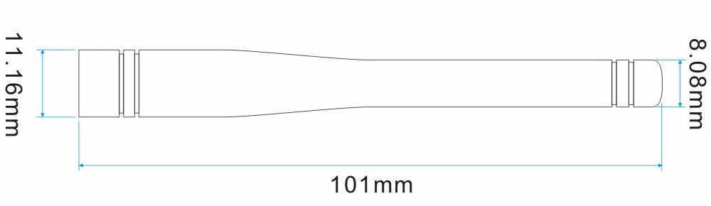 LEORY 868 МГц усиление 2,15 dBi резиновая антенна с мужской головка SMA для режима беспроводного модуля SW868-WT100