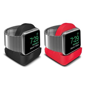 2 In 1 TPU Non-slip Charging Dock Stand Compact Stand Charger For Apple Watch iWatch Series 4 3 2 1 Smart Accessories