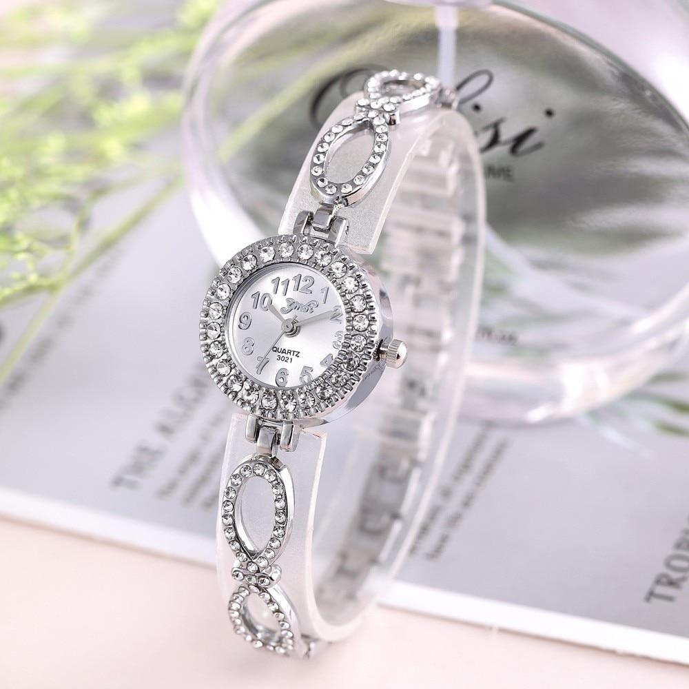TOP Brand Luxury Bracelet Watch Women Watch Rose Gold Women's Watches Diamond Ladies Watch Clock Relogio Feminino Reloj Mujer
