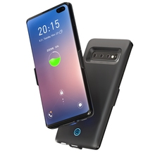 For Samsung Galaxy S10 Plus Battery Charger Case 6000mAh External Portable Backup Power Bank Battery Case For Samsung S10 Plus цена