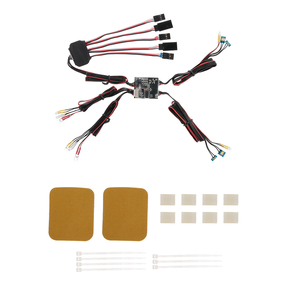 RC Car LED Lights Control System For Traxxas TRX 4 Ford Bronco XLT Cars RC Truck Parts
