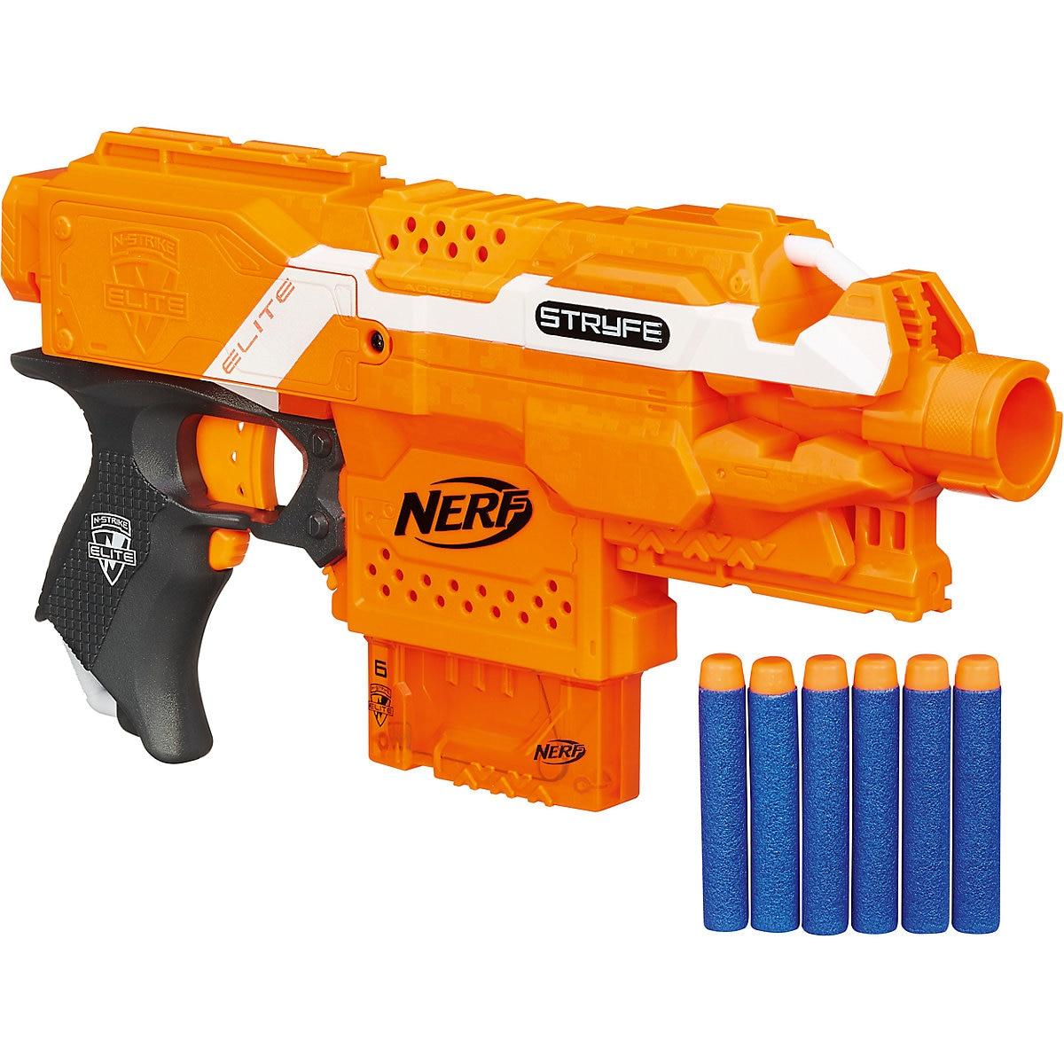 NERF Toy Guns 2624497 gun weapon toys games pneumatic blaster boy orbiz revolver Outdoor Fun Sports MTpromo