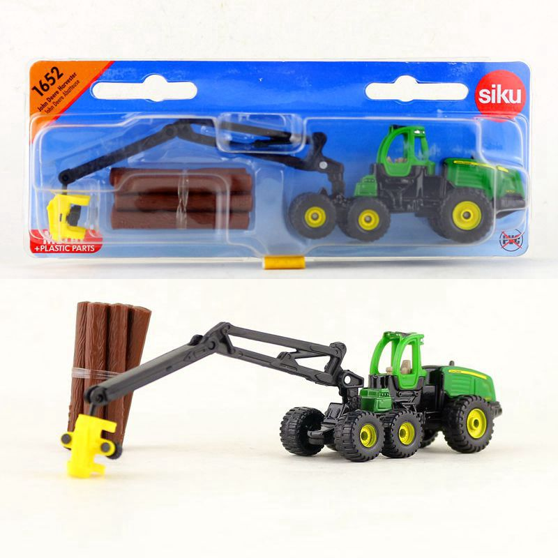 SIKU 1652/DieCast Metal Model/Engineering Lorry Harvester timber Truck/Educational Collection for children's gift or collection image