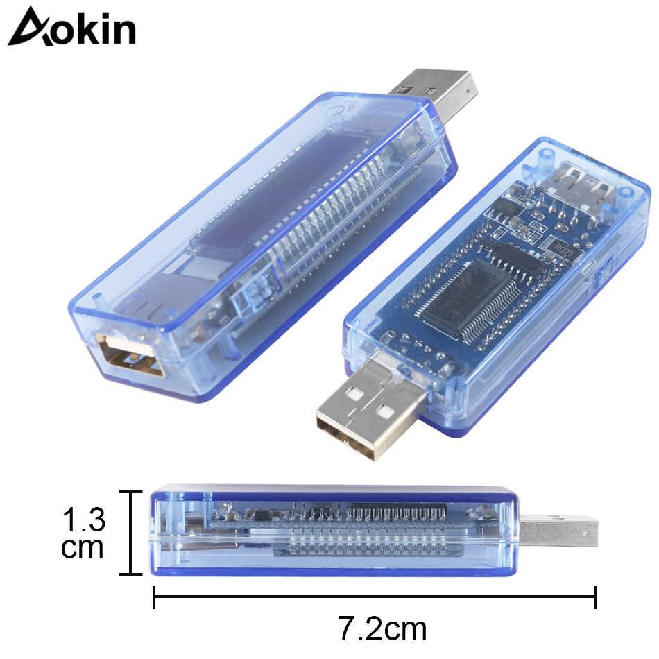 Testeur USB voltmètre numérique DC amperimetro voltagecurrent compteur ampèremètre détecteur batterie externe chargeur indicateur