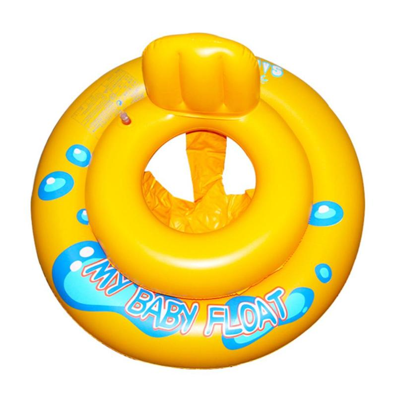 Inflatable Baby Swimming Ring Infant Bath Water  Seat Float Funny Toddler  Bathing Swim Pool Circle Kids Swimming Trainer Toys
