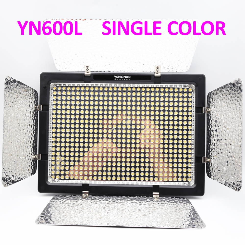 YONGNUO <font><b>YN600L</b></font> YN600 YN 600 LED Light Panel 5500K LED Photography lights FOR Video Light with Wireless 2.4G Remote APP Remote image
