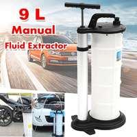 9L Vacuum Oil Fluid Suction Extractor Changer Manual Car Fuel Pump Tank Remover