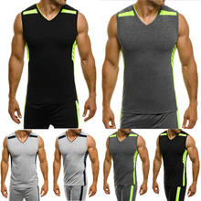 Neue Compression Männer der Sport Anzüge Quick Dry Lauf sets Kleidung Sport Jogger Training Gym Fitness Trainingsanzüge Running Set(China)