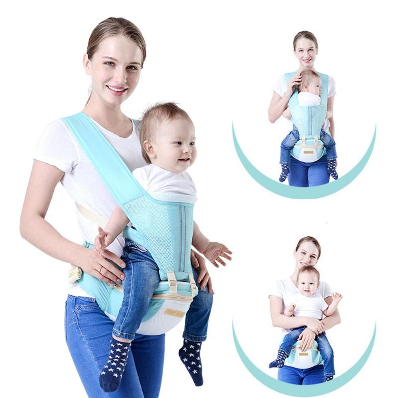 Baby Lab New Hipseat For Newborn And Prevent O-type Legs 6 In 1 Carry Style Loading Bear 20Kg Ergonomic Baby Carriers Kid Sling