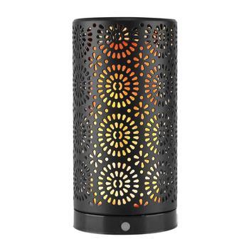 מגנטי LED להבת אפקט אור USB תשלום במהופך מזויף אש מנורת שולחן