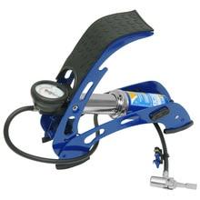 Насос автомобильный ножной KRAFT КТ 810001 (Рабочее давление - 7 АТМ, морозостойкость: