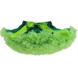 Зеленая юбка-пачка для девочек; юбка-пачка Санта-Клауса; Рождественская юбка для девочек; юбка-американка; Танцевальная юбка для девочек