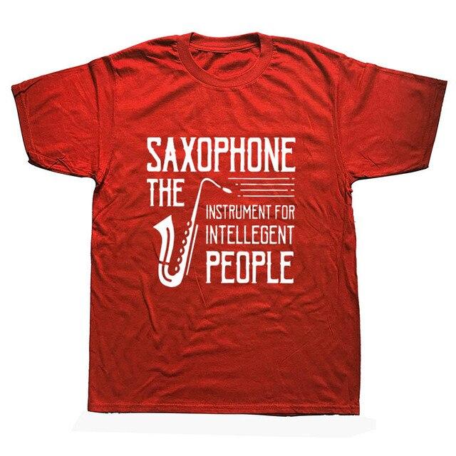 Present Idea Saxophone Musician T-Shirt15