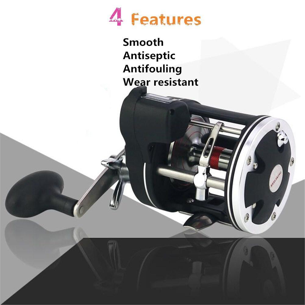 Mounchain 30 50 Drum Fishing Wheel reel High Strength 3 8 1 Stainless Steel Digital Display