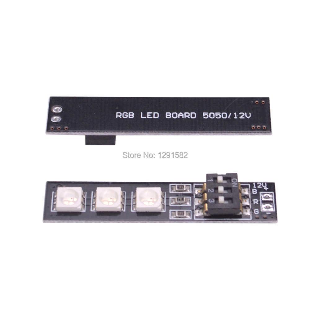 5050 RGB 7 Warna 5 V/12 V/16 V 3 S 4 S RGB LED Lampu Papan w/DIP Switch untuk QAV250 CC3D FPV RC Quadcopter Multicopter