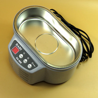 Stainless Steel Ultrasonic Cleaner Jewelry Glasses PCB board Cleaning Machine ultrasonic cleaner 600ml ultrasound bath