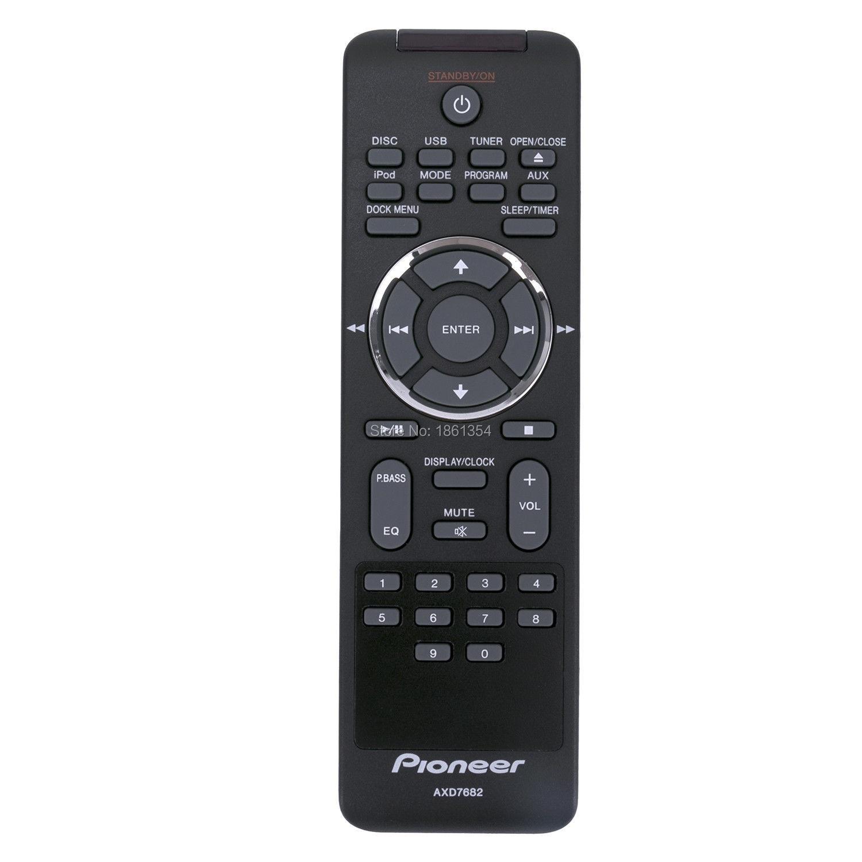 Новый пульт дистанционного управления AXD7682 AV для Pioneer DVD-ресивера, X-EM21 XEM21 XEM11