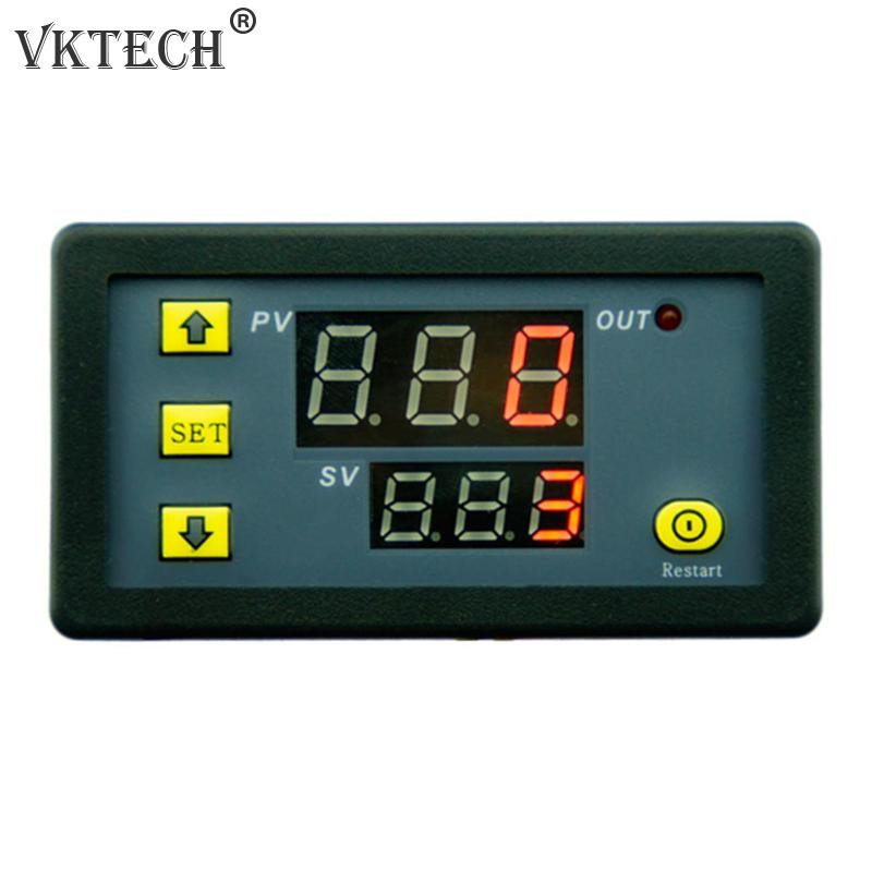12V Timing Delay Timer Relay Module Digital LED Dual Display Cycle 0-999 Hours Adjustable Power Supplies12V Timing Delay Timer Relay Module Digital LED Dual Display Cycle 0-999 Hours Adjustable Power Supplies