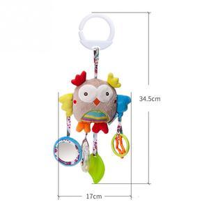 Image 3 - Cartoon Baby Toys 0 12 months Bed Stroller baby mobile Hanging Rattles Newborn Plush infant toys for Baby Boys Girls погремушки