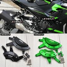 가와사키 Z400 Z 400 닌자 400 NINJA400 250 엔진 보호 커버에서 오토바이 가드 페어링 가드 슬라이더 충돌 패드