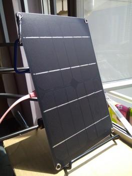 5V 1A wyjście USB ładowarka solarna zewnętrzna przenośna ładowarka panelowa słoneczna do telefonu 6W Mono ogniwo słoneczne tanie i dobre opinie WORKSTAR Panel słoneczny Monocrystalline Silicon 275*170*2mm