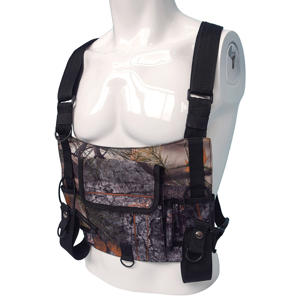 Image 4 - Outdoor Military Tactical Vest Highly Visible Reflective Radio Harness Chest Rig Outdoor Clothing Hunting Vest-in Hunting Vests from Sports & Entertainment