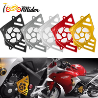 Motorcycle CNC Aluminum Front Sprocket Chain Cover Guard Protect Accessories for CBR 250 honda CBR 250R Accessories