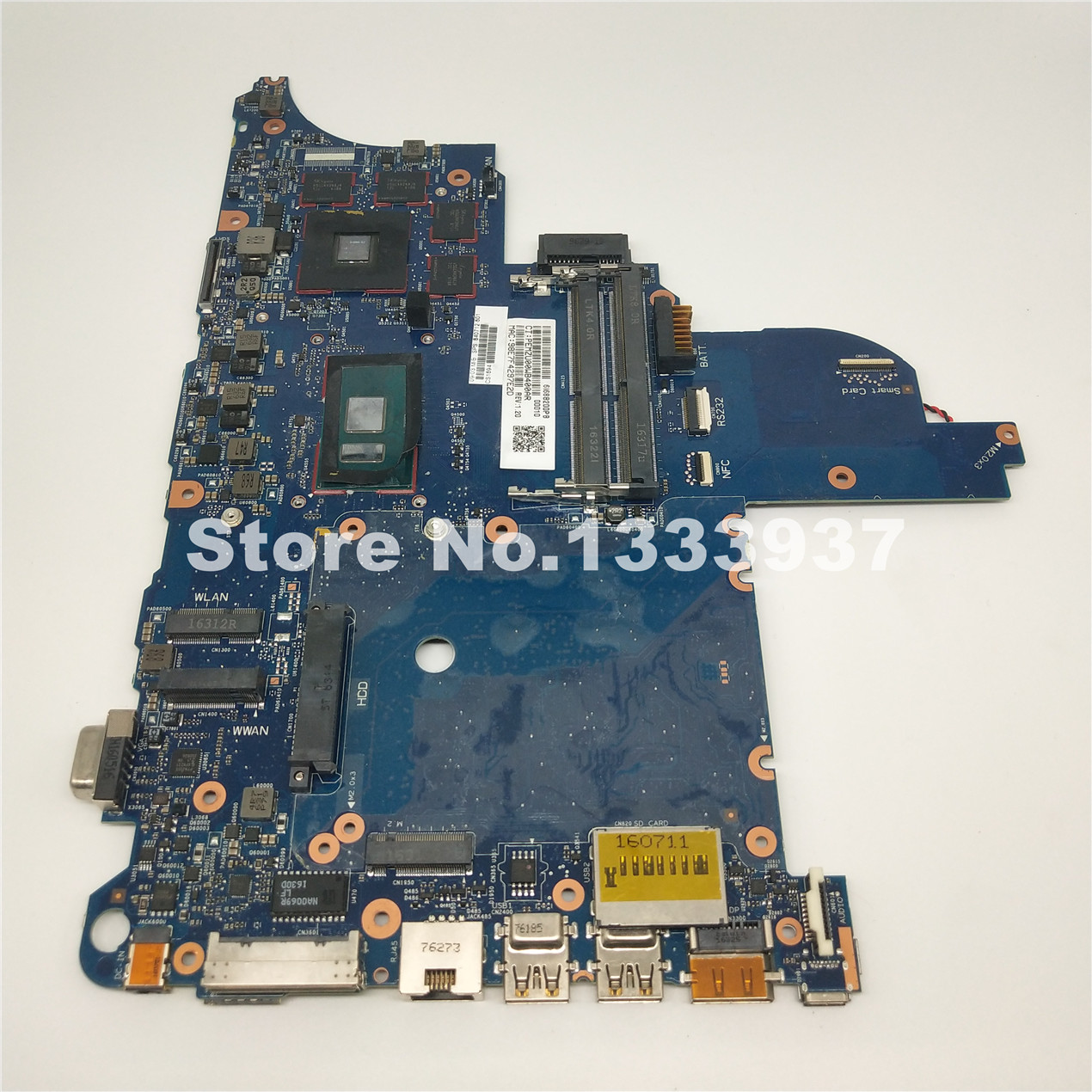 Mainboard 840712-601 840712-501 840712-001 For HP ProBook 640 G2 <font><b>650</b></font> G2 640-G2 <font><b>650</b></font>-G2 Laptop motherboard <font><b>I5</b></font>-6300U SR2F0 image