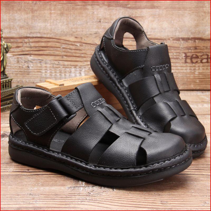 Hight quality men hollow out 어부 샌들 로마 스타일 비즈니스 맨 캐주얼 여름 신발 발목 랩 샌들-에서남성용 샌들부터 신발 의  그룹 3