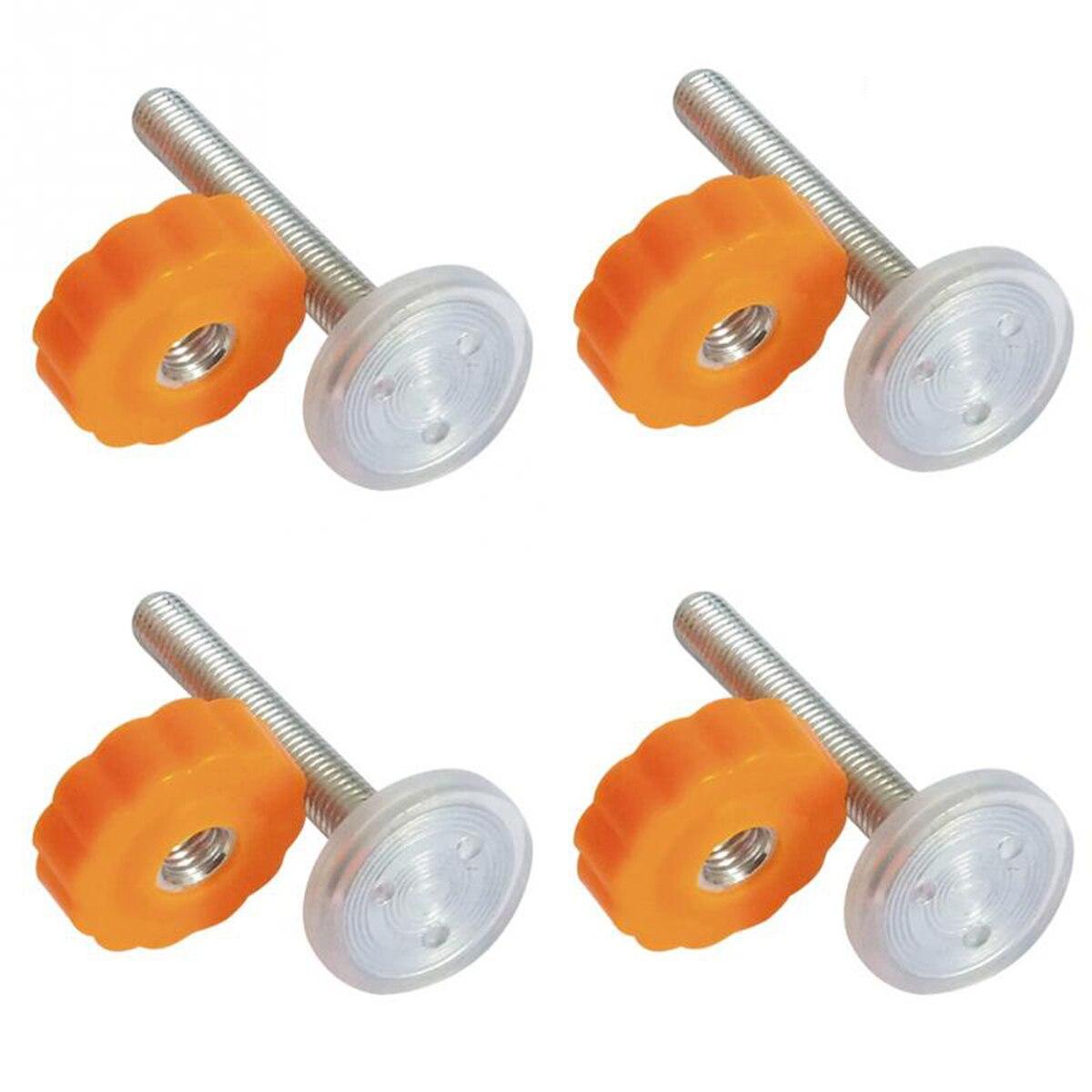 4 pcs Pression Bébé Porte Vis Tige Filetée Tiges À Pied À Travers Portes Accessoire-M10 x 10mm