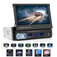 7 pollici Telescopica di Grandi Dimensioni Dello Schermo di GPS Bluetooth Auto MP5 Player Auto Radio Player Supporto Chiamata Hands Free Auto Del Veicolo DVD FM/MP5