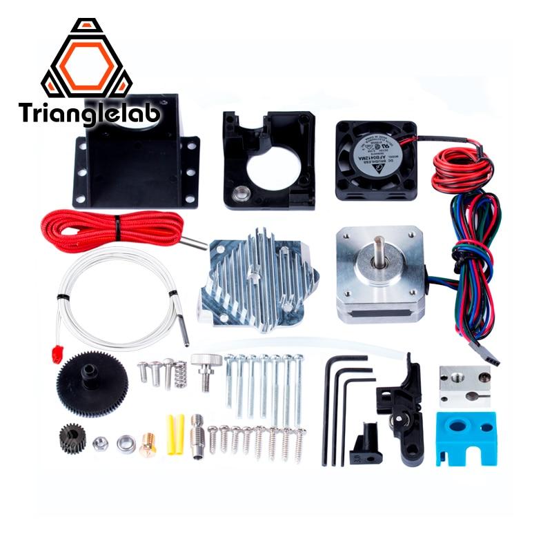 Trianglelab 3d imprimante titan Aero V6 hotend extrudeuse kit complet titan extrudeuse kit complet reprap mk8 i3 Compatible TEVO ANET