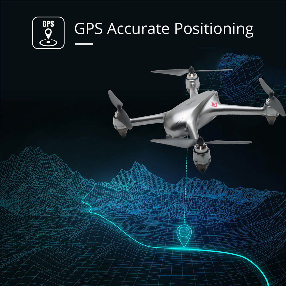 Image 4 - MJX B2SE GPS Brushless Motor RC Drone 1080P HD Camera 5G WiFi FPV Precise GPS Altitude Hold Smart Flight RC Quadcopter VS B5W-in RC Helicopters from Toys & Hobbies